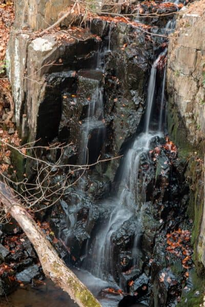 Buttermilk Falls in Rockland County NY