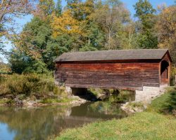 Hyde Hall Covered Bridge: The Oldest Covered Bridge in the United States