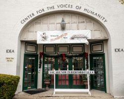 Getting in the Christmas Spirit at the It's a Wonderful Life Museum in Seneca Falls, NY