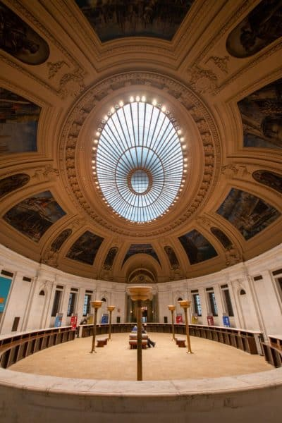 Rotunda in the National Museum of the American Indian in New York City