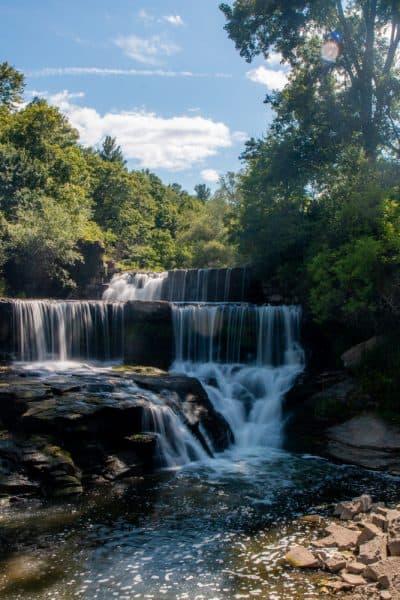 Seneca Mill Falls near Penn Yan New York