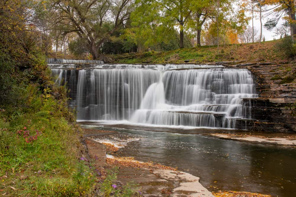 Talcottville Falls in Lewis County NY