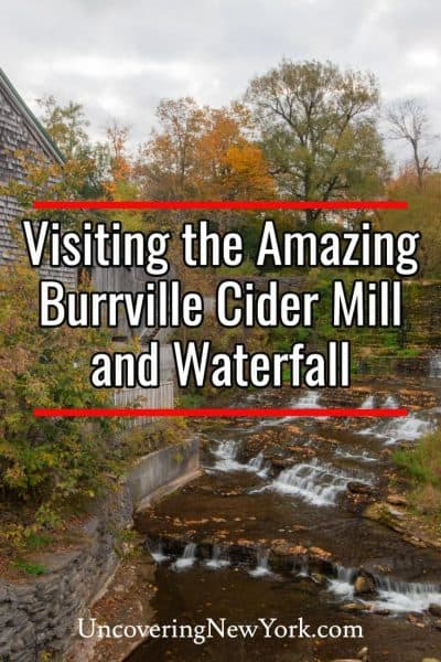 Burrville Cider Mill and Waterfall in Jefferson County, New York