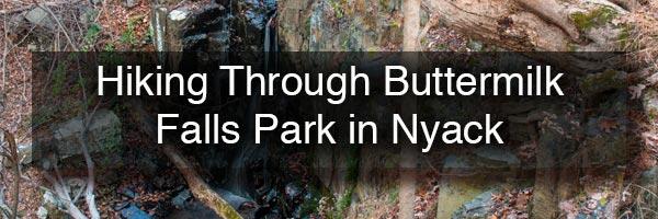 Buttermilk Falls Park in Nyack NY