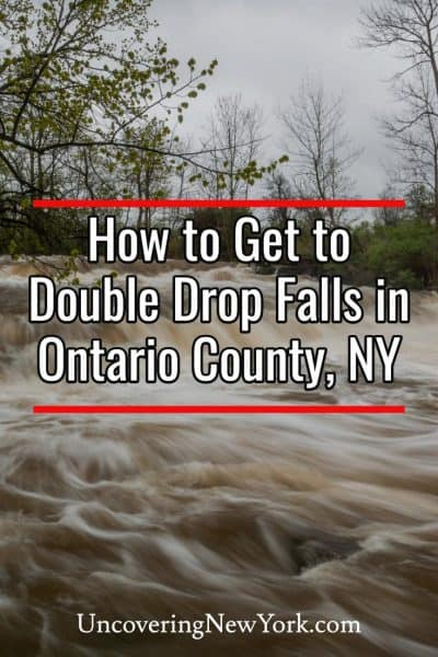 How to get to Double Drop Falls in Phelps, New York