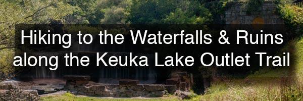 Waterfalls of the Keuka Lake Outlet Trail