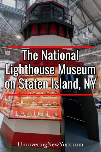 Visiting the National Lighthouse Museum on Staten Island New York