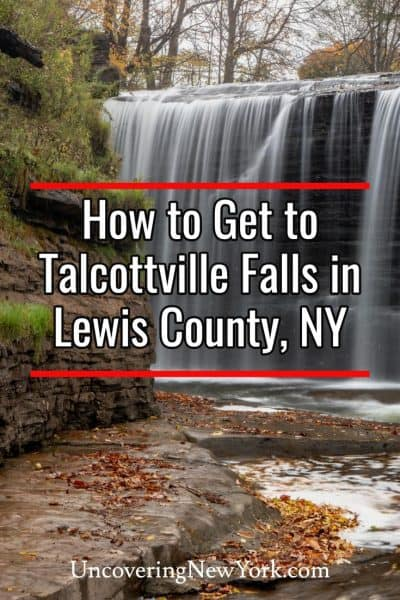 How to get to Talcottville Falls in Lewis County, New York