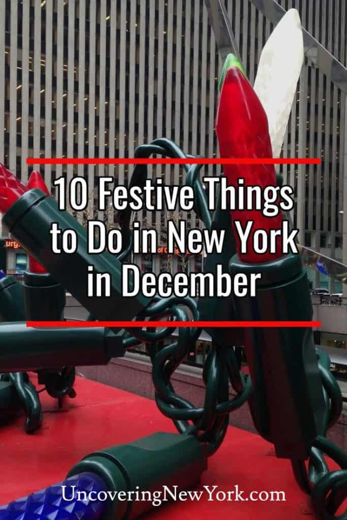 The best things to do in New York in December