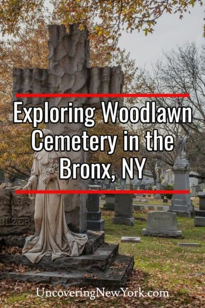 Exploring the beautiful and historic Woodlawn Cemetery in Bronx New York