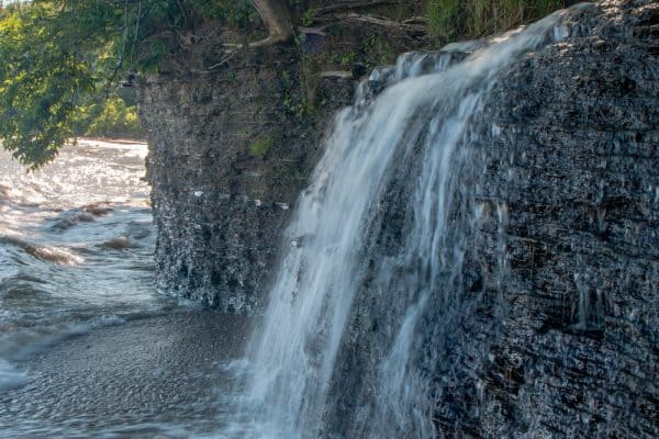 Barcelona Falls in Chautauqua County New York
