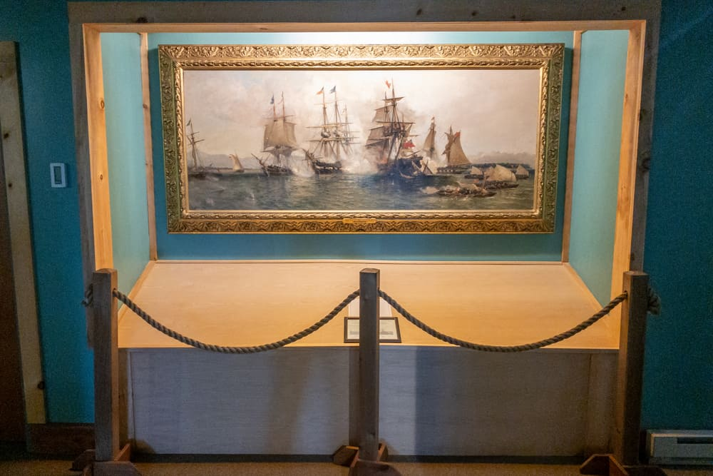 The War of 1812 Museum in Plattsburgh, New York