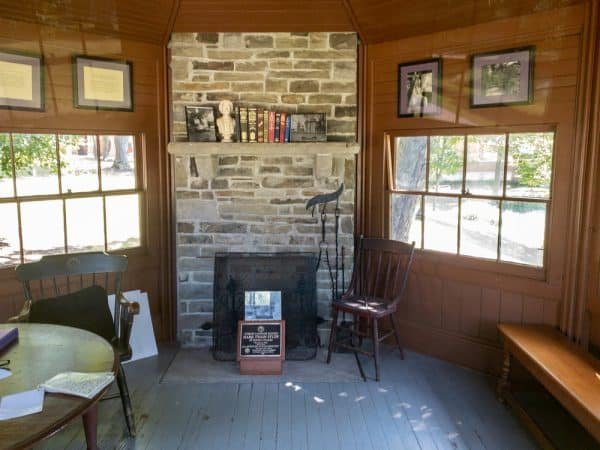 Inside Mark Twain's Study in Elmira New York