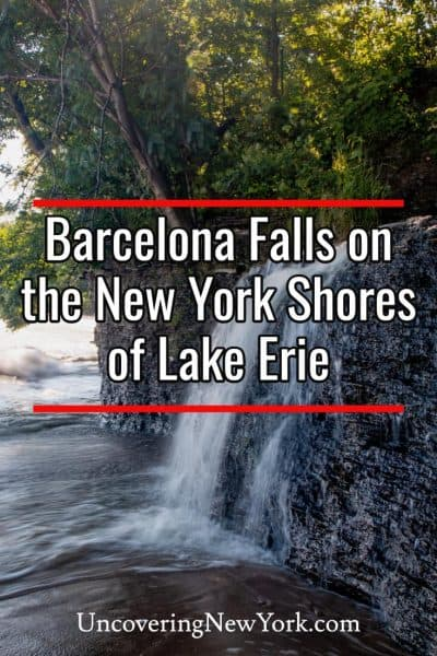How to get to Barcelona Falls in southwestern New York