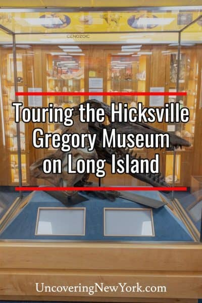 Review of the Hicksville Gregory Museum in Hicksville New York