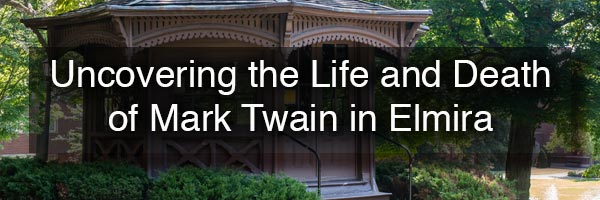 Mark Twain in Elmira NY