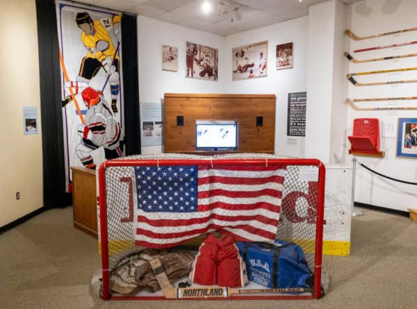 The Lake Placid Olympic Museum in New York