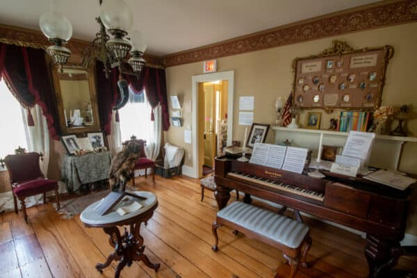 Front Parlor of the Matilda Joslyn Gage House near Syracuse New York