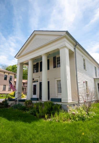Matilda Joslyn Gage house in Fayetteville, NY