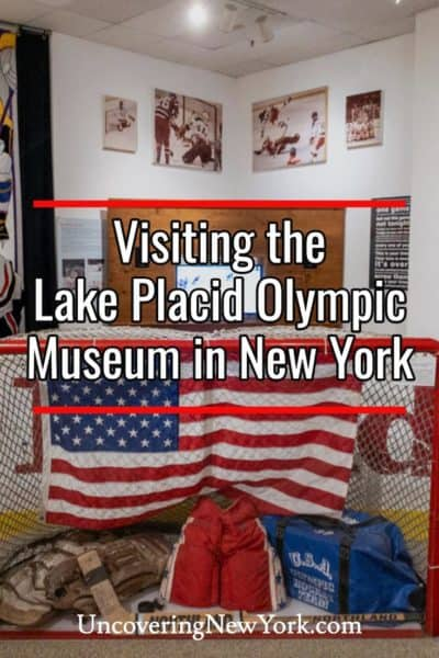 Visiting the Lake Placid Olympic Museum in New York