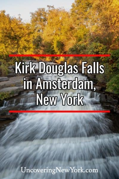 How to get to Kirk Douglas Falls in Amsterdam New York