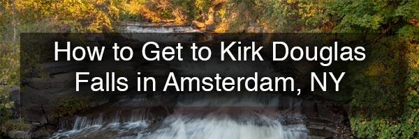 Kirk Douglas Falls in Amsterdam NY
