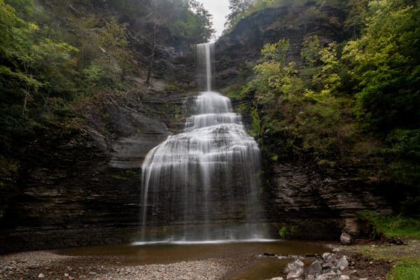Aunt Sarah Falls near Watkins Glen, New York