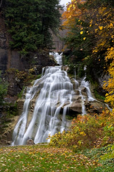 Delphi Falls in Madison County NY