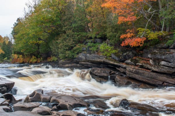 Hart's Falls in Saint Lawrence County New York