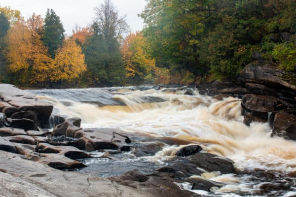 Hart's Falls Preserve in St Lawrence County New York