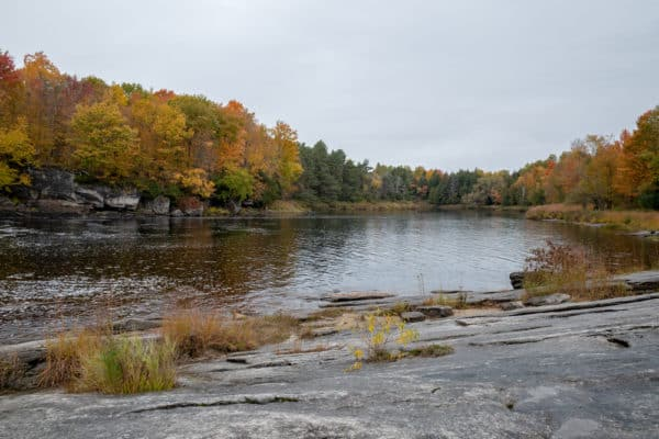 Grasse River in St Lawrence County New York