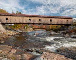 Visiting the Beautiful Jay Covered Bridge Near Lake Placid