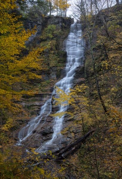 New York's Pratts Falls in the autumn
