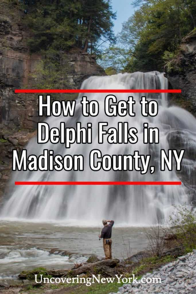 How to get to Delphi Falls near Syracuse New York