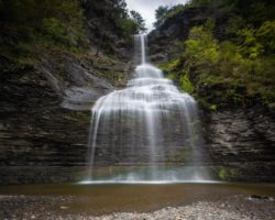 How to Get to Aunt Sarah's Falls Near Watkins Glen