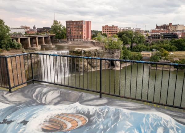 High Falls Terrace in Rochester New York