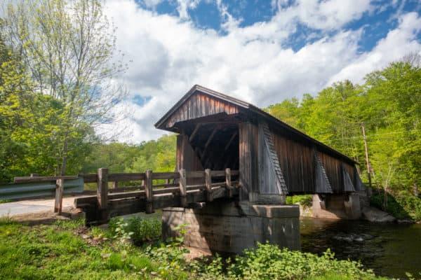 Livingston Manor Covered Bridge in Sullivan County New York