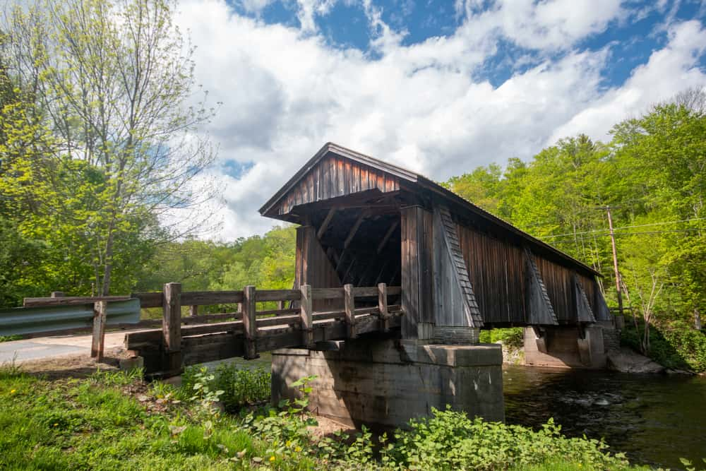 Livingston Manor Covered Bridge in Sullivan County New York