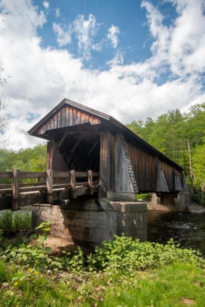 Livingston Manor Covered Bridge in the New York Catskills
