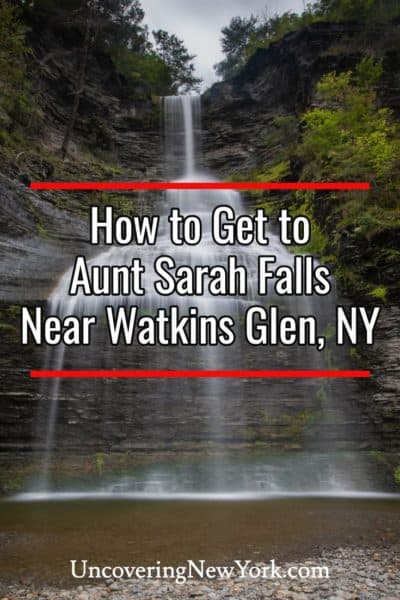 How to get to Aunt Sarah Falls in the Finger Lakes of New York