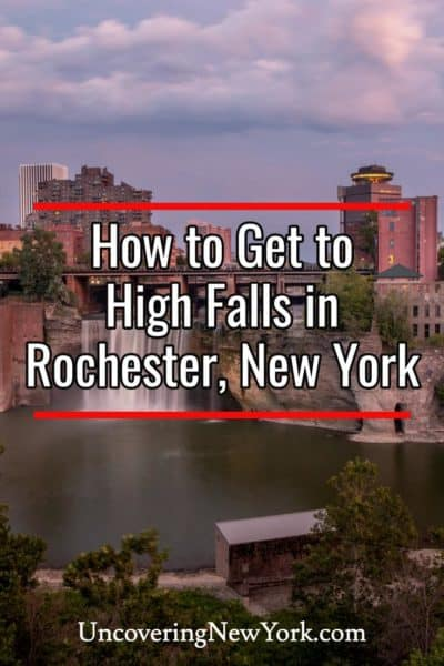 How to Get to High Falls in Rochester, New York
