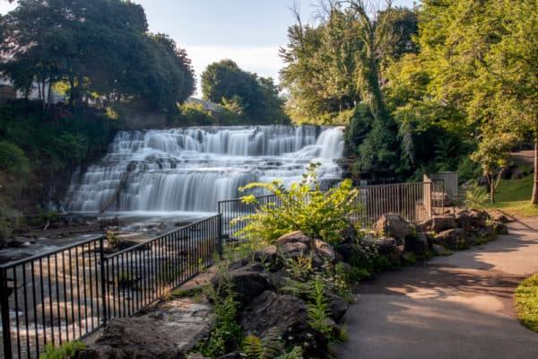 Glen Falls in Glen Park near Buffalo New York