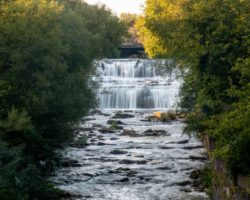 How to Get to Glen Falls Near Buffalo, New York