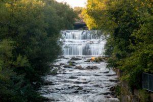 How to Get to Glen Falls Near Buffalo, New York