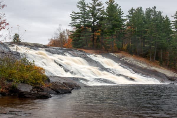 Lampson Falls in St Lawrence County New York
