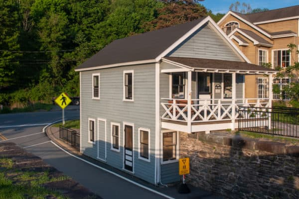 Tollhouse at Roebling's Bridge in Minisink Ford NY