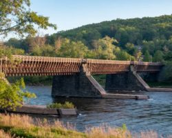 Roebling's Delaware Aqueduct:The Oldest Suspension Bridge in the US