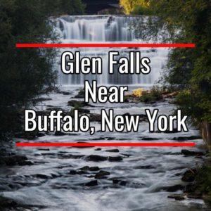Glen Falls near Buffalo New York