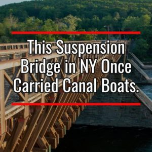 Roebling's Delaware Aqueduct in New York