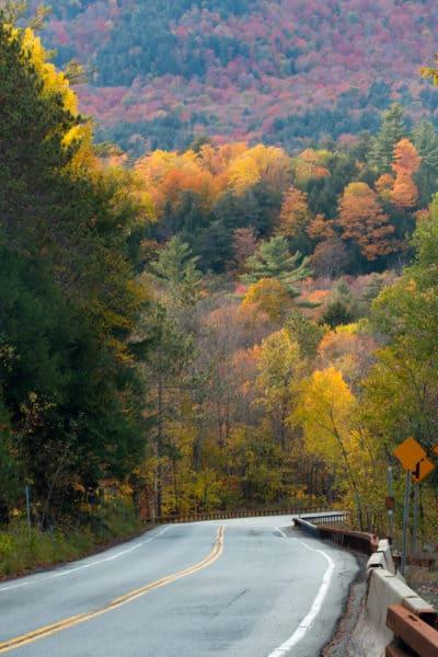 NY-73 through the Keene Valley of the Adirondacks